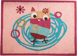 Pink Rug For Nursery Amazon Com Zutano Owls Rug Pink Discontinued By Manufacturer