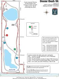 Washington Park Map by Donor Dash 5k Washington Park Denver