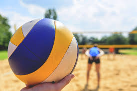 steps to building a sand volleyball court playrs club