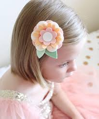 felt hair accessories make felt flower hair with sizzix molly and