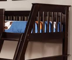 Espresso Twin Over Full Bunk Bed Bed Frames - Espresso bunk bed