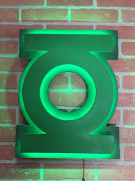 green lantern neon light comic book justice league green lantern corp superhero