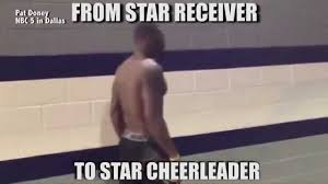 Dez Bryant Memes - dallas cowboys dez bryant meme star receiver to star cheerleader