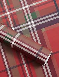 tartan wrapping paper tartan christmas wrapping paper 4m m s
