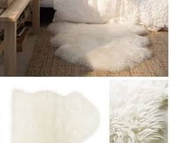white fur carpet tag faux fur area rug fuschia furry white black