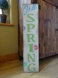 Easter Decorations Front Door by 187 Best Spring Signs Images On Pinterest Easter Crafts Easter