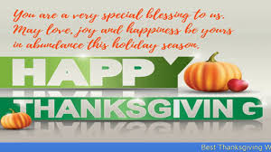 best thanksgiving wishes messages greetings 2017