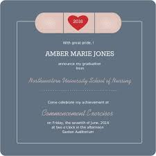 school graduation invitations nursing school graduation invitations winter college graduation
