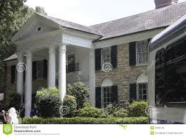 Elvis Presley Home by Elvis Presley Graceland Mansion Editorial Stock Image Image