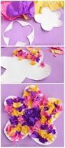 15 bricolages pour enfants à faire avec du papier de soie craft