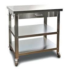 stainless steel butcher table butcher block cart on wheels butcher block on wheels kitchen carts