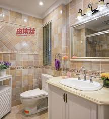 attractive bathroom tile border height subway tile bathroom wall