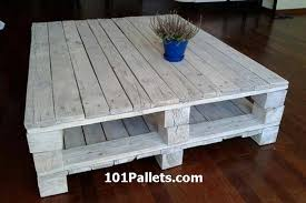 Easy Wood Coffee Table Plans by Diy Pallet Coffee Table Plans Recycled Things