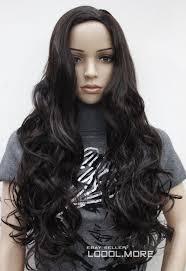 online get cheap wigs long hair black middle part aliexpress com