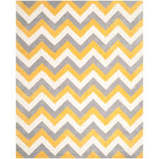 Gray And Yellow Rugs Safavieh Cambridge Gray Gold 8 Ft X 10 Ft Area Rug Cam153a 8