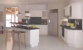 modele de cuisine moderne americaine cuisine ouverte et moderne coloris blanc et gris cendré cuisines