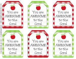 personalized christmas gift tags printable or printed with free