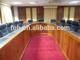 U Shaped Conference Table Wood Veneer Mdf Walnut Classical Design U Shaped Conference Table