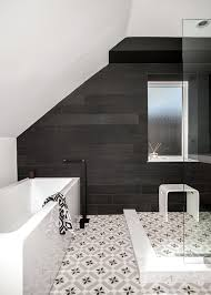 Mirrored Subway Tile Backsplash Bathroom Transitional With by Moroccan Floor Tile Bathroom Transitional With Annex Attic