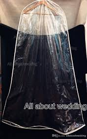 wedding dress covers transparent clear thin also high quality soft plastic