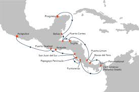 Progreso Mexico Map by Cruise From Progreso To Acapulco With Ms Europa Hapag Lloyd Cruises