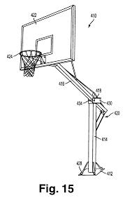 patent us7290744 break away basketball goal system google patents