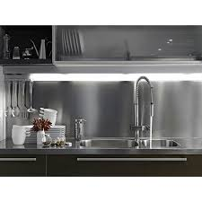 inox cuisine 90x20 cm 304l stainless steel splashback or skirting board