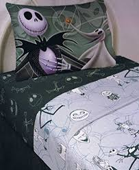 Nightmare Before Christmas Bedroom Stuff Amazon Com The Nightmare Before Christmas Sheet Set Full Size 4