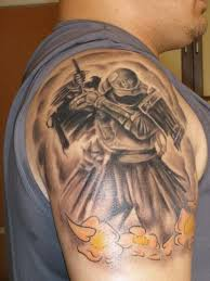 3d tribal tattoos meaning warrior design idea for and