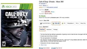 amazon black friday deal days call of duty ghosts is the amazon black friday deal of the day