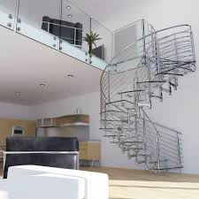 custom glass and stainless steel spiral stair system tatiana s yelp