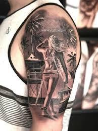 the 25 best beach tattoos ideas on pinterest small wave tattoo