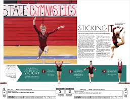 yearbook search yearbook gymnastics design abby gillam