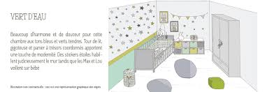 chambre b b vert idée décoration de chambre bébé vert tendre lapingris fr
