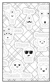 293 best color me emoji images on pinterest coloring books