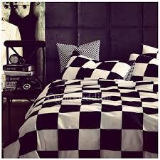 Chic Duvet Covers Designer Black And White Plaid Shabby Chic Duvet Covers Obcs72348