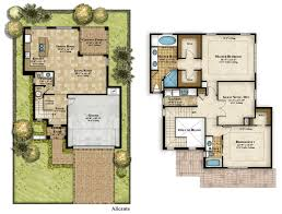 Mediterranean Style Floor Plans Home Design Two Story Craftsman House Plans Beach Style Compact