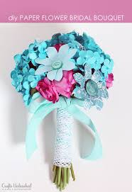 paper flower bouquet to make a paper flower bridal bouquet