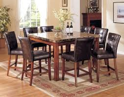 dining table large square dining table seats 12 square glass
