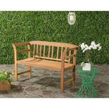 5ft Garden Bench Outdoor Benches Patio Chairs The Home Depot