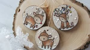 how to make wooden ornaments and tags