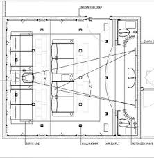Home Theater Seating Layout Plan Basement Home Theater Plans - Home theater design layout