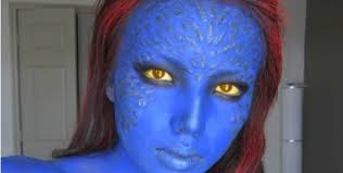 Mystique Halloween Costume 11 Halloween Makeup Ideas Teen Guide