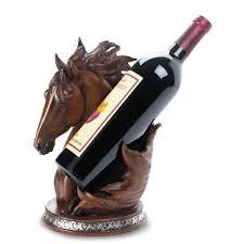 horse wine bottle holder wholesale at koehler home decor