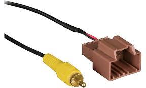 metra backupcam backup camera cable retain the factory backup