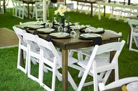table and chair rentals mn party time rental party rental equipment brainerd mn