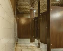 ironwood manufacturing engraved restroom partition