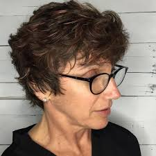 hairstyles for curly hair with bangs medium length 30 absolutely perfect short hairstyles for older women