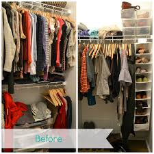 getting organize series organize your closet the blessed nest