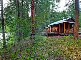remote cabins small house swoon mazama river cabins